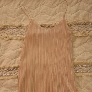 Pink Slip Dress Perfect for Summer!